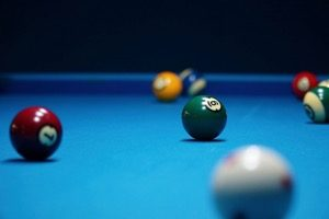 Photo of a pool table