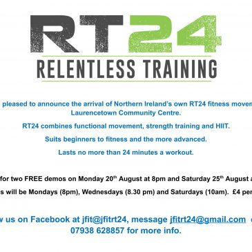 RT24 Demo Classes at Laurencetown Community Centre