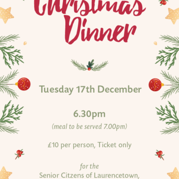 Senior Citizens Christmas Dinner