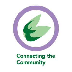 Connecting the Community logo